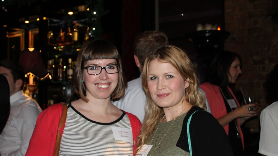 Lara Narkiewicz and Sarah French from Discount Vouchers