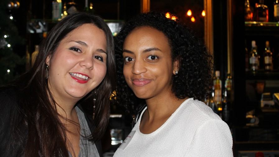 Catalina Gonzalez-Zettler and Bianca Folkes from ShopStyle