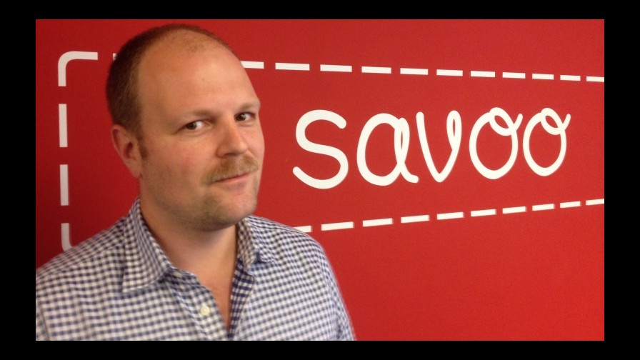 Simon Bird; Savoo's General Manager, International.