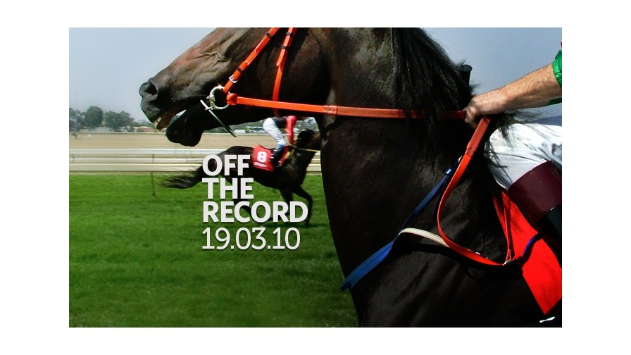 Off the Record - 19th March 2010