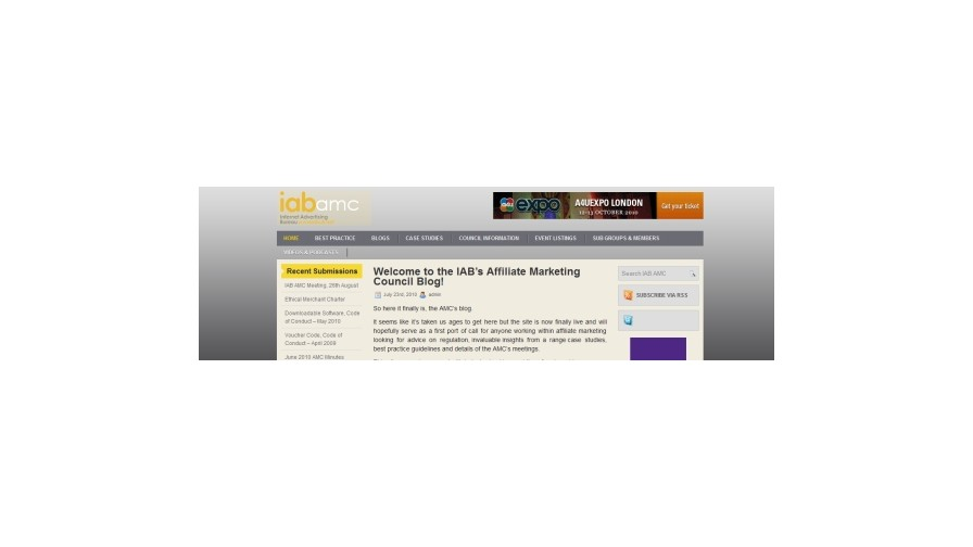 IAB Affiliate Marketing Council Launch Dedicated Site