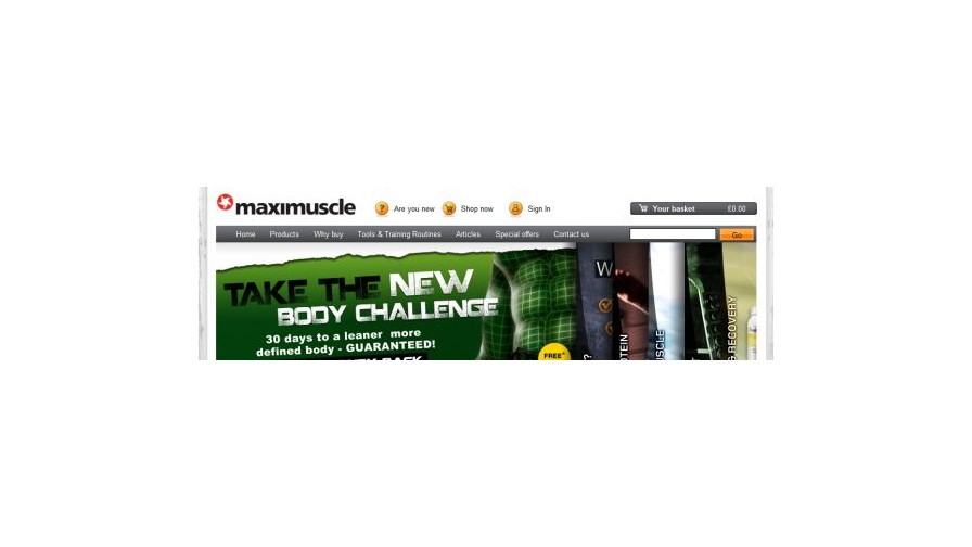 Maxinutrition Consolidate Affiliate Proposition to Awin