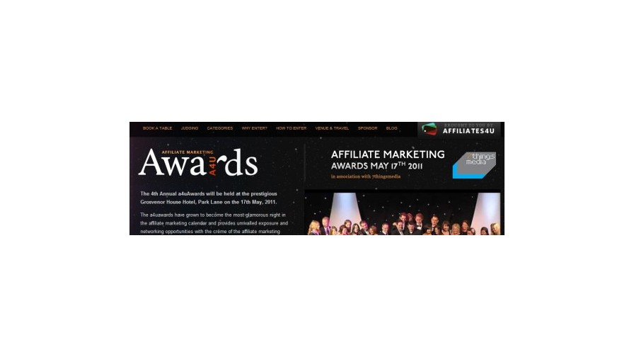a4uAwards 2011 Shortlist Announced