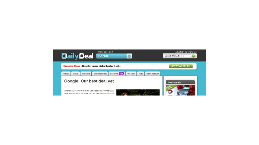 Google acquires German local deal specialist DailyDeal.