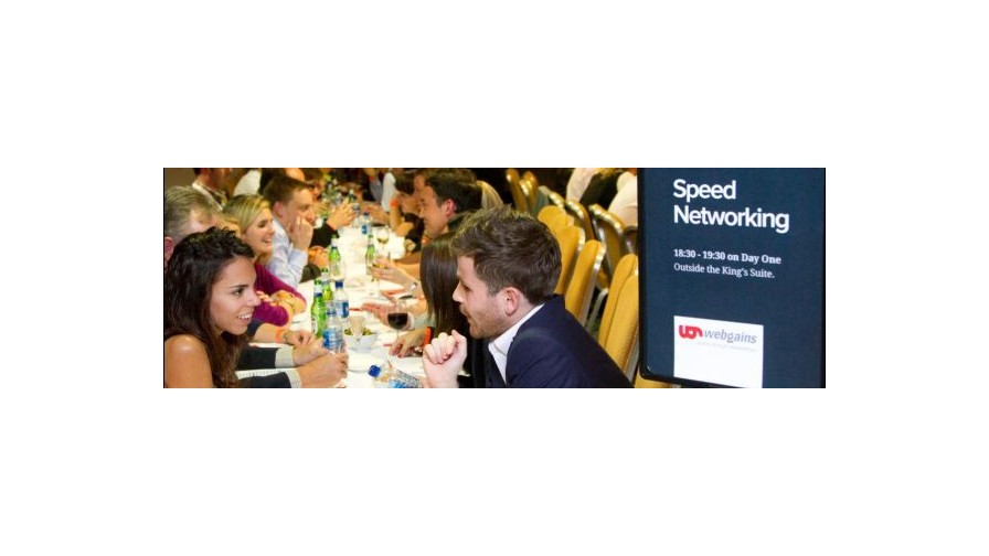 Build new relationships with speed networking