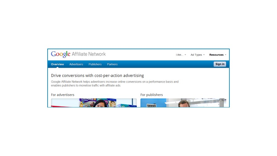 Google Affiliate Network Officially Launches in the UK