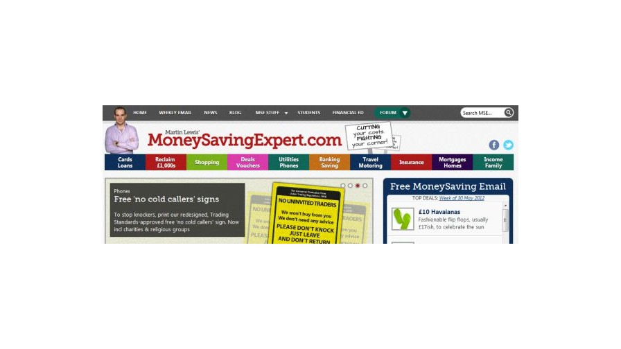 MoneySupermarket.com buys MoneySavingExpert.com for £87 million