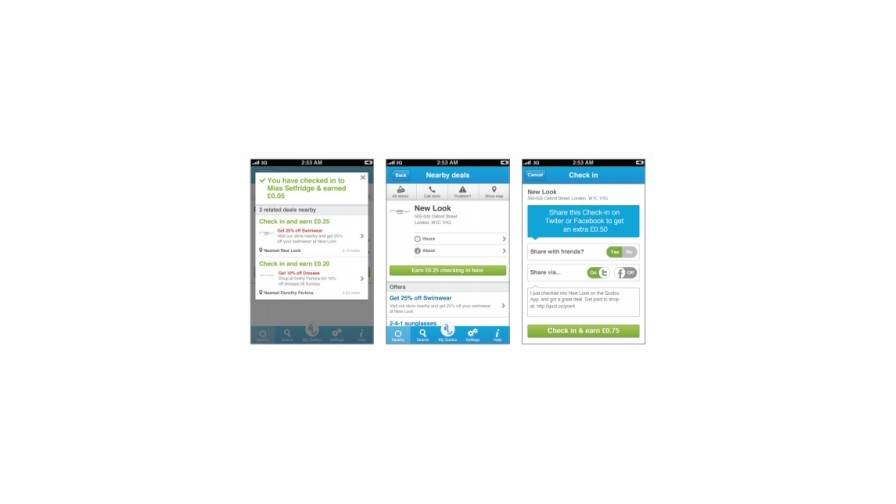 Quidco updates retail offers in mobile app