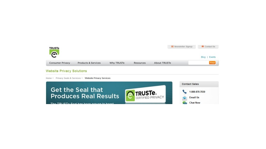 TRUSTe develops privacy certification