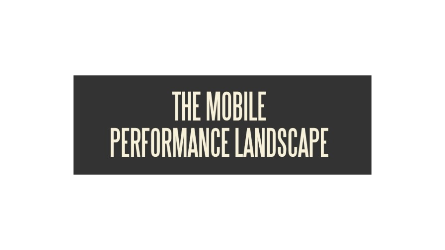 The mobile performance landscape [INFOGRAPHIC]