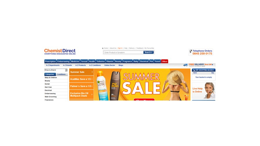 A4u Programme of the Week: Chemist Direct