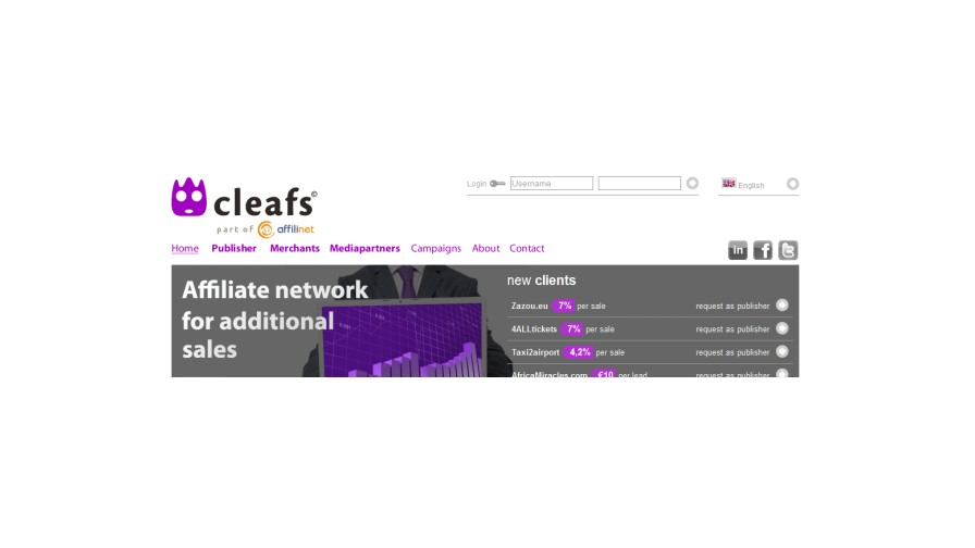 affilinet continues European expansion with acquisition of Dutch network Cleafs