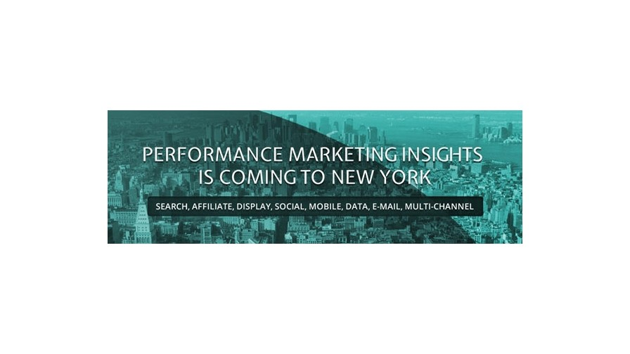 Date confirmed for Performance Marketing Insights: New York