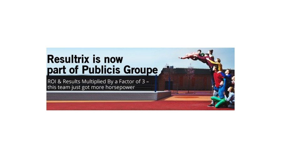 Resultrix now part of Publicis Groupe