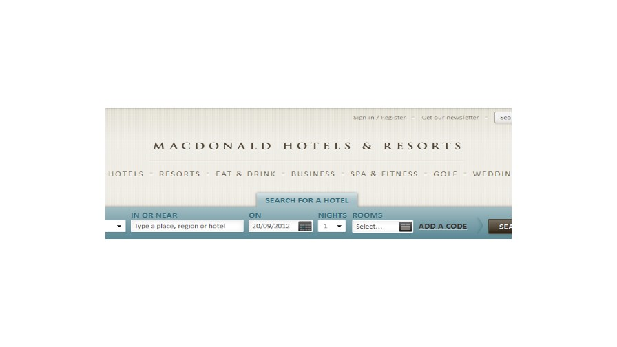 A4u Programme of the Week: Macdonald Hotels