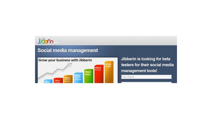 Jibberin.com showcases social suite