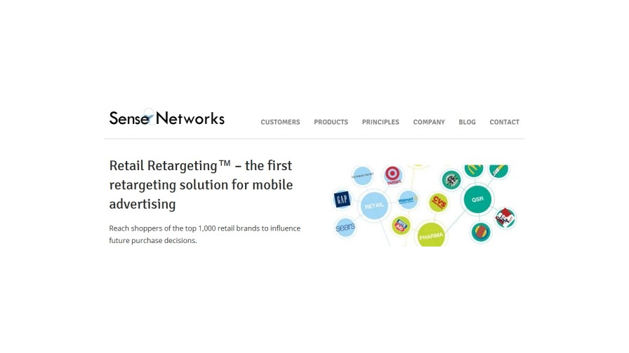 Sense Networks unveils location retargeting on mobile phones