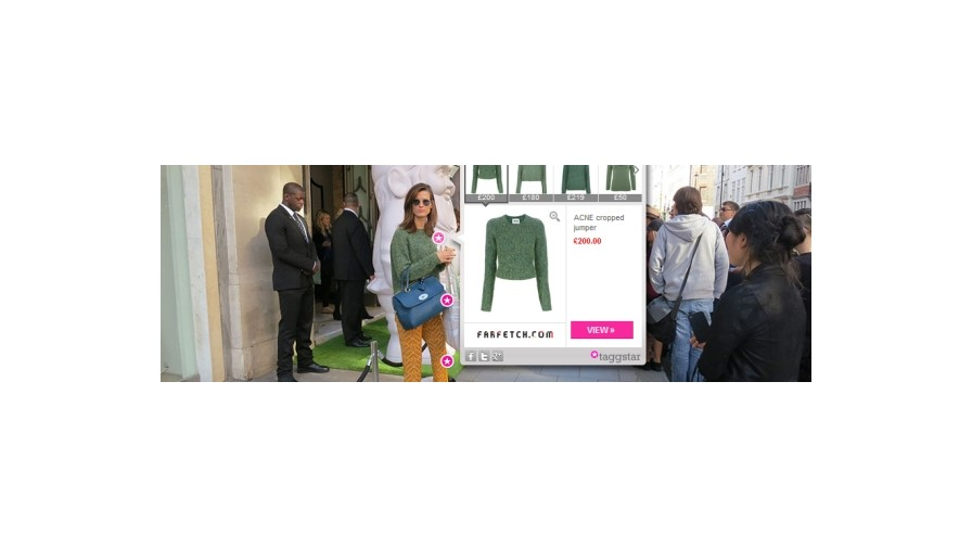 Taggstar monetises fashion images