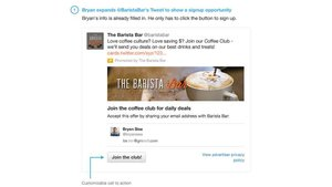 Twitter's Lead Generation Card – It's 'Not' a Groupon-style Ad