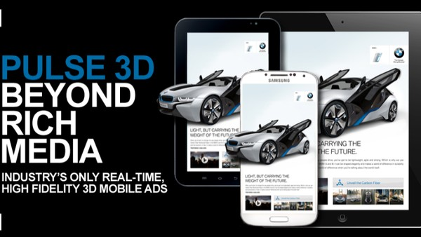 Real-time 3D Rendering - A New Dimension to Mobile Ads