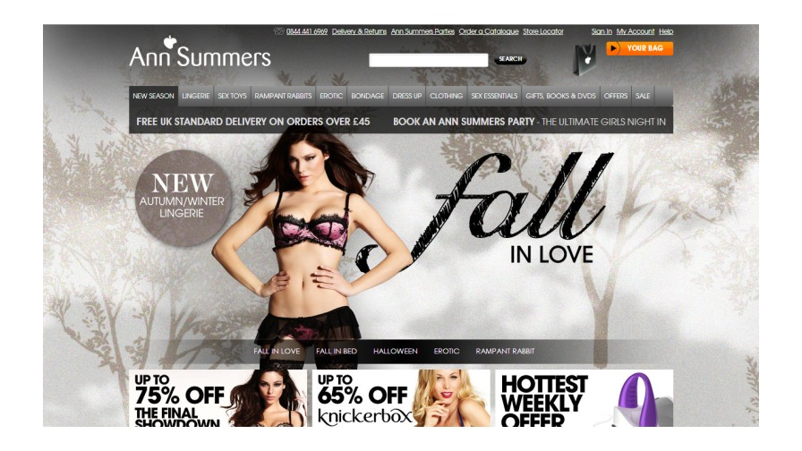 Ann Summers Ramps up Mobile and Omnichannel