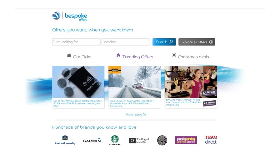 Intelligent Targeting with bespoke offers