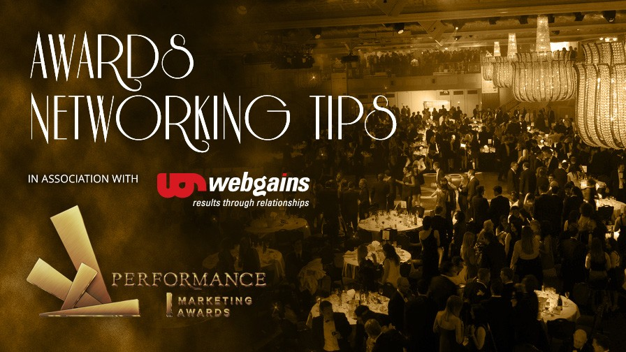 Co-Sponsor Webgains Offer Networking Tips Ahead of Awards