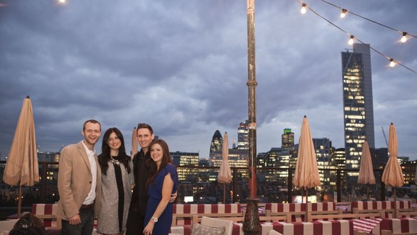 INside 7thingsmedia's Exclusive Roof Top Shindig