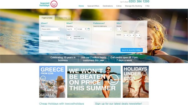 Lowcostholidays Delivers High End Affiliate Programme