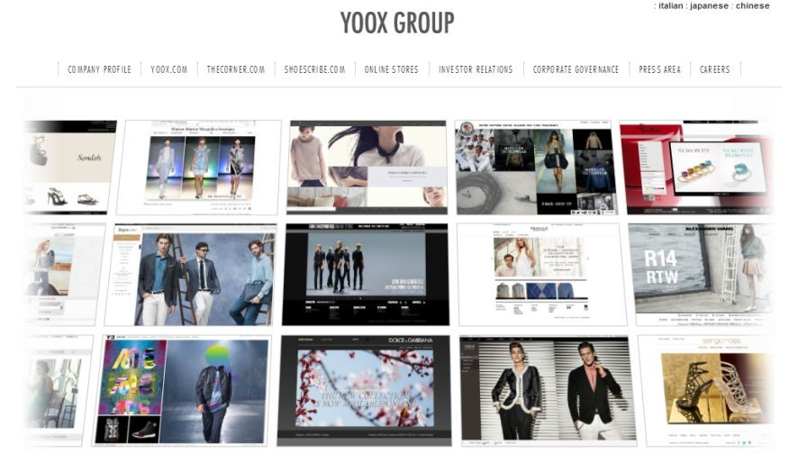 Conversion Optimisation Boosts Business at Yoox Group