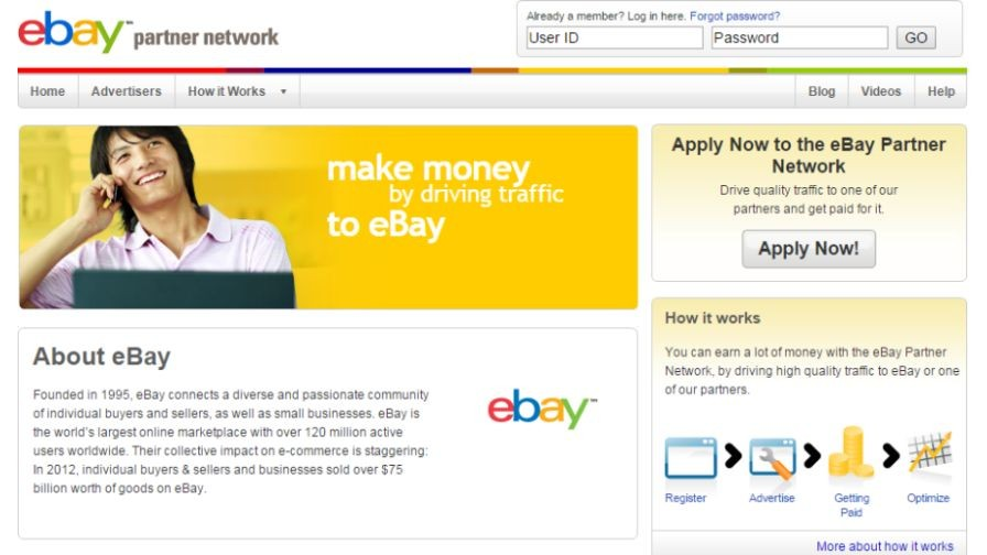 Tap Into One of the World's Largest Marketplaces with eBay Partner Network