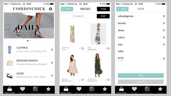 Fashionchick Launches new iOS App in UK