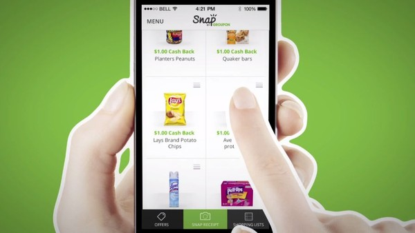 Groupon Snap Launches Onto Cashback Publishers' Turf