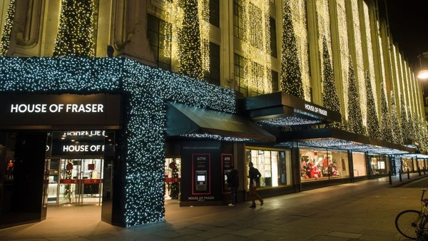 With the Customer in Sight, House of Fraser Reports Record Online Sales