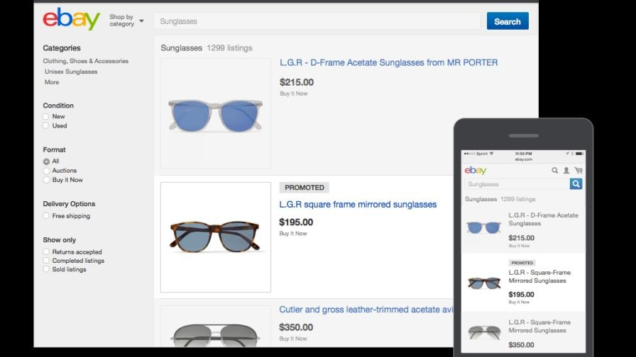 EBay's Cost-Per-Sale Ads to Hit UK and German Shores