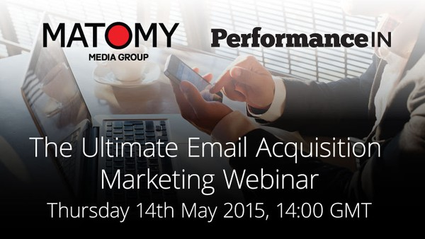 Matomy to Host Webinar Tackling the Current State of Email Acquisition