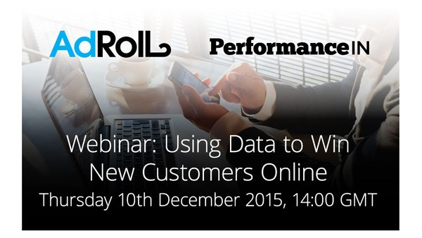 Using Data to Win New Customers: AdRoll Webinar Now Free to View