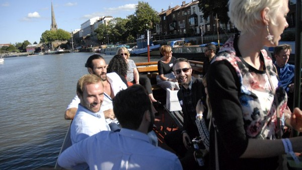 In Pictures: Connect Brings Networking to the Waterways of Bristol