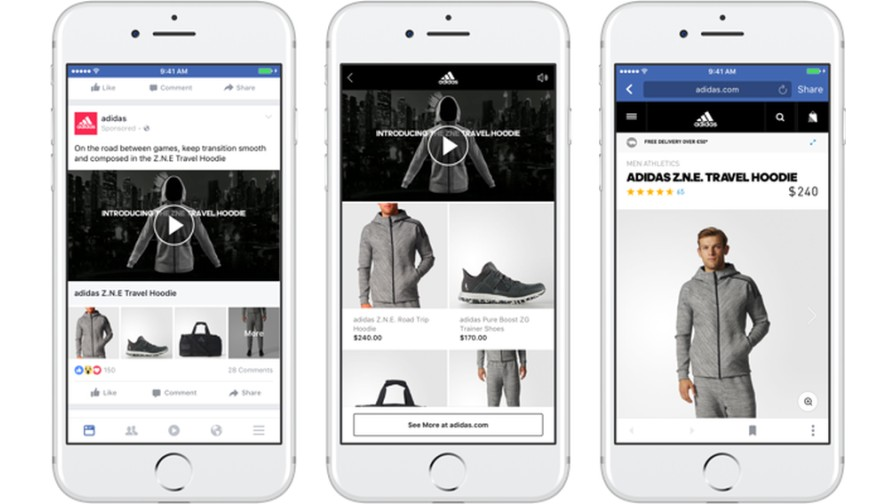 Facebook Launches Mobile Video-Ready Ad Format, Collection
