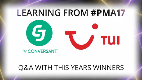 Learning from PMA 17: CJ Affiliate Wins Best Managed Affiliate Programme with TUI