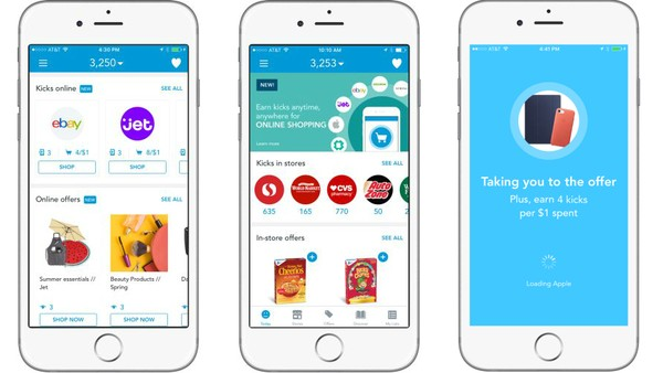 Shopkick App Rewards Consumers Just for Browsing Partners' Products
