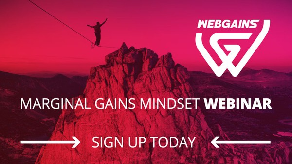 Webgains to Host Webinar for Publishers Focused on Cultivating 'Marginal Gains Mindset'