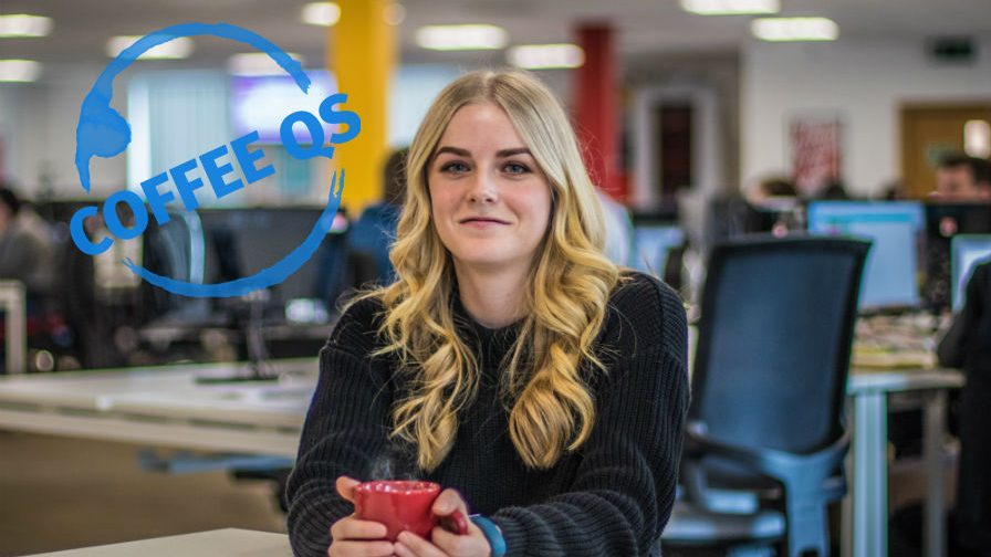 Coffee Qs: Sasha Howells, Visualsoft