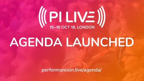 PI LIVE 2018 Agenda Challenges Industry Conventional Thinking