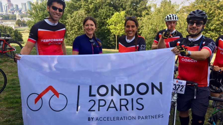 Affiliate Industry Complete 300km London-To-Paris Charity Bike Ride