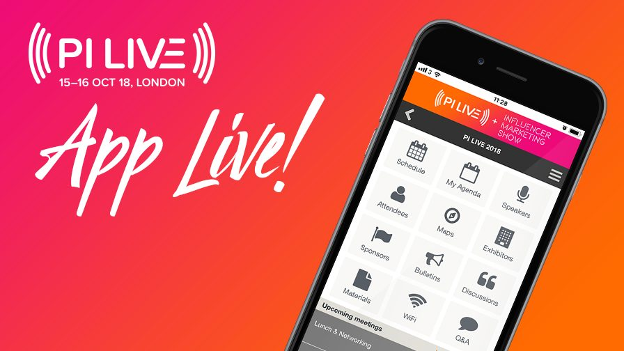 #PILIVE18: Download the PI LIVE 2018 Event App