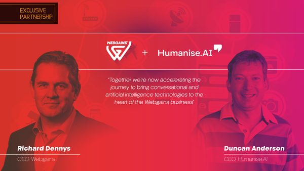 Webgains Enhances AI Capabilities with Humanise.AI Partnership