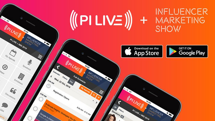 #PILIVE19: Download the PI LIVE + IMS Event App