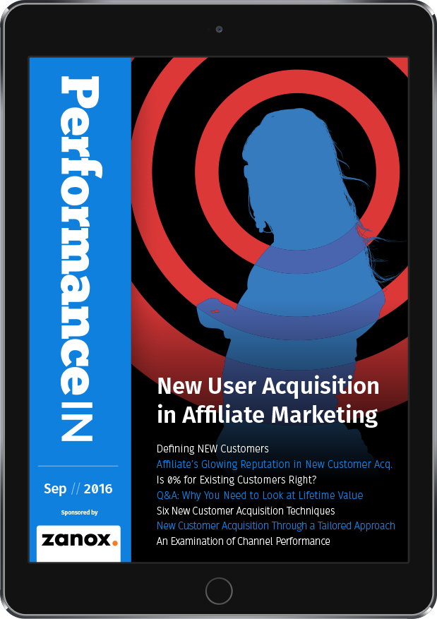 New User Acquisition in Affiliate Marketing