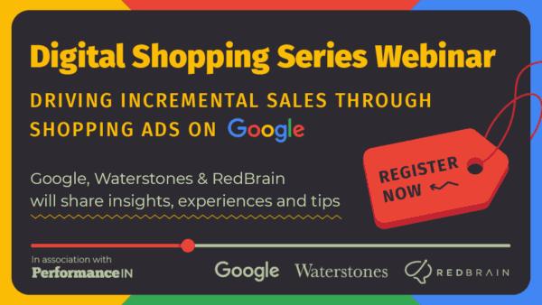 Live Webinar: Driving Incremental Sales Through Shopping Ads on Google